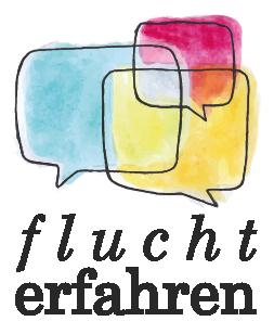 Das Logo des Projekts Fluchterfahren